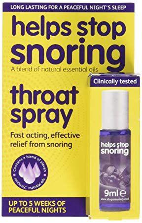 HELPS STOP SNORING SPRAY  9ML